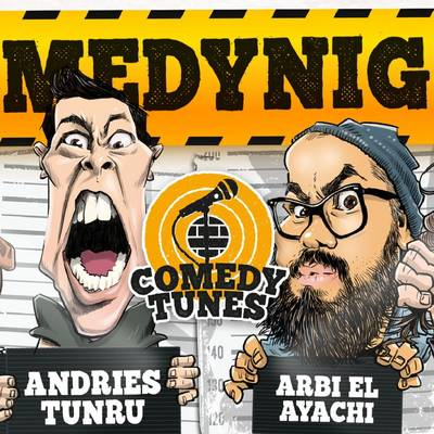 COMEDY NIGHT | Buro Ruis - RAYEN PANDAY / MC RUUD SMULDERS / ANDRIES TUNRU / ARBI EL AYACHI