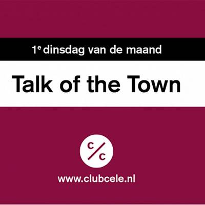 Club Cele | Meet Up: Ontheemd in Zwolle | Talk of the Town Zwolle | i.s.m. Theater Utrecht
