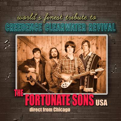 A tribute to Creedence Clearwater Revival - The Fortunate Sons (USA)